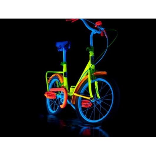 Краска люминесцентная AcmeLight Metal 2К для металла синяя - интернет-магазин tricolor.com.ua