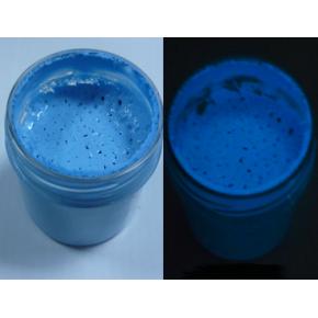 Краска люминесцентная AcmeLight Plastic 2K для пластика синяя