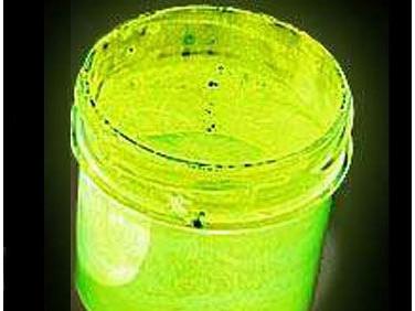 Краска люминесцентная AcmeLight для пластика (2К) желтая