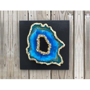 Эпоксидная смола Crystal Art Resin 2 для картин и покрытия