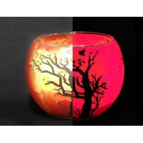 Краска люминесцентная AcmeLight Glass Classic 2К для стекла красная