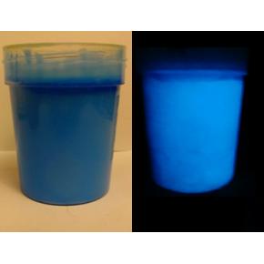 Краска люминесцентная AcmeLight Glass Classic 2К для стекла синяя
