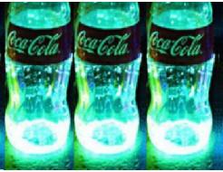 Купить Краска светящаяся AcmeLight для стекла (2К) голубая - 3