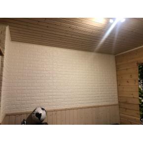 Самоклеящаяся декоративная 3D панель «Кирпич» 7 мм #9 бежевая - изображение 4 - интернет-магазин tricolor.com.ua