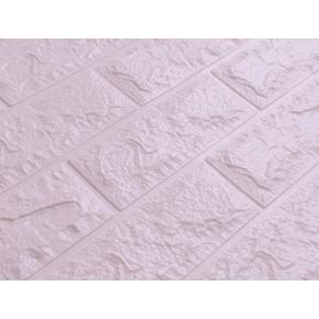 Самоклеящаяся декоративная 3D панель «Кирпич» 7 мм #15 светло-фиолетовая - изображение 2 - интернет-магазин tricolor.com.ua