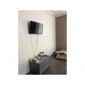 Самоклеящаяся декоративная 3D панель «Кирпич» 7 мм #16 фиолетовая - изображение 4 - интернет-магазин tricolor.com.ua