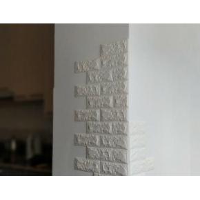 Самоклеящаяся декоративная 3D панель «Кирпич» 7 мм #18 баклажан-кофе - изображение 3 - интернет-магазин tricolor.com.ua