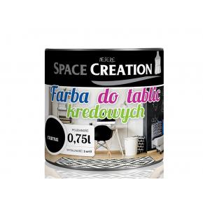 Интерьерная грифельная краска Space Creation черная