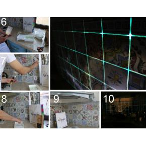 Затирка люминесцентная для швов AcmeLight Grout голубая - изображение 3 - интернет-магазин tricolor.com.ua