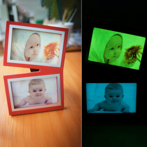 Светящаяся люминесцентная бумага А3 AcmeLight голубое свечение - изображение 4 - интернет-магазин tricolor.com.ua