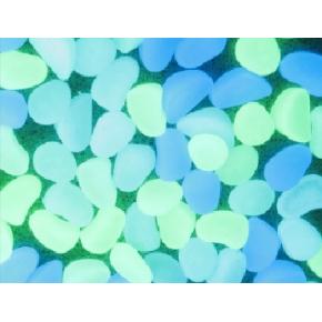 Люминесцентные пластиковые камни AcmeLight PVC Stones синие - изображение 2 - интернет-магазин tricolor.com.ua