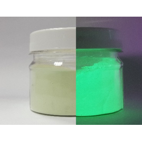 Люминесцентный пигмент Люминофор зеленый Tricolor DLO-7D/100-120 микрон - интернет-магазин tricolor.com.ua