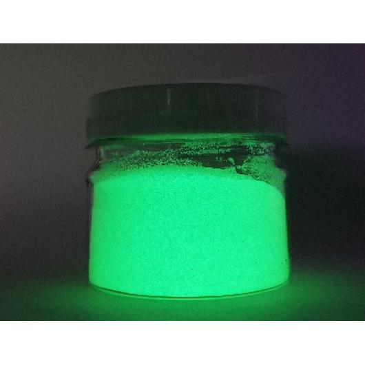 Люминесцентный пигмент Люминофор зеленый Tricolor DLO-7C/70-90 микрон - изображение 3 - интернет-магазин tricolor.com.ua