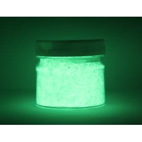 Люминесцентный пигмент Люминофор зеленый Tricolor DLO-7E/500 микрон - изображение 3 - интернет-магазин tricolor.com.ua