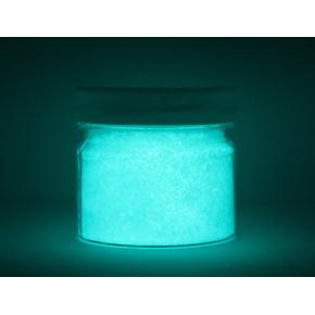 Люминесцентный пигмент Люминофор голубой Tricolor BLO-7E/500 микрон - изображение 3 - интернет-магазин tricolor.com.ua
