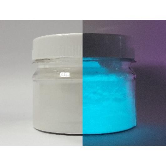 Люминесцентный пигмент Люминофор голубой Tricolor BLO-7B/40-65 микрон - изображение 2 - интернет-магазин tricolor.com.ua