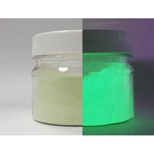 Люминесцентный пигмент Люминофор зеленый Tricolor DLO-7B/40-65 микрон - изображение 2 - интернет-магазин tricolor.com.ua