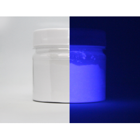 Люминесцентный пигмент Люминофор цветной Tricolor White To Purple белый фиолетовый - интернет-магазин tricolor.com.ua