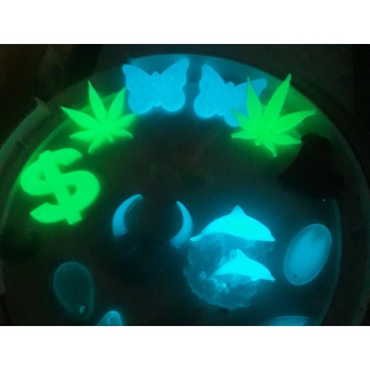 Люминесцентный пигмент Люминофор зеленый Tricolor DLO-7A/5-15 микрон - изображение 6 - интернет-магазин tricolor.com.ua