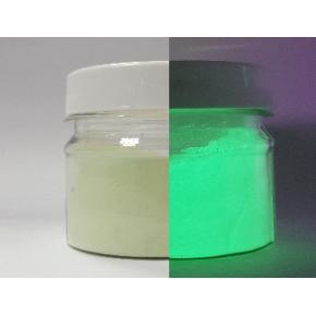 Люминесцентный пигмент Люминофор зеленый Tricolor WDLO-7C/70-85 микрон - изображение 2 - интернет-магазин tricolor.com.ua