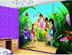 Детские фотообои Lux Design #3 Феи Дисней - изображение 2 - интернет-магазин tricolor.com.ua