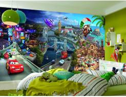 Детские фотообои Lux Design #4 Тачки - изображение 2 - интернет-магазин tricolor.com.ua
