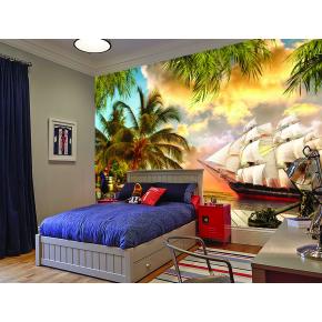 Фотообои Lux Design #5 Корабль - изображение 2 - интернет-магазин tricolor.com.ua