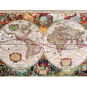 Фотообои Lux Design #12 Карта - интернет-магазин tricolor.com.ua