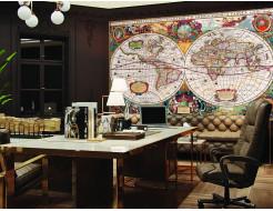 Фотообои Lux Design #12 Карта - изображение 2 - интернет-магазин tricolor.com.ua