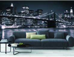 Фотообои Lux Design #13 Ночной город - изображение 2 - интернет-магазин tricolor.com.ua