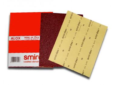 Бумага для мокрой и сухой шлифовки Smirdex 275 лист 230х280 мм зерно 180