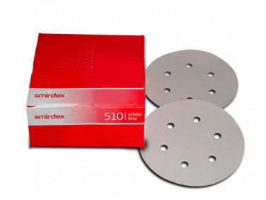 Бумага для сухой шлифовки Smirdex 510 круг 150 мм зерно 60