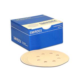 Бумага для сухой шлифовки Smirdex 510 круг 125 мм зерно 80