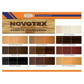 Лак-морилка для дерева Mixon Novotex Ultra Черная - изображение 2 - интернет-магазин tricolor.com.ua