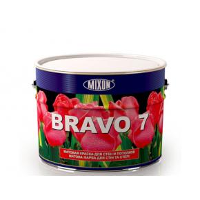 Краска для стен и потолка Mixon Bravo 7 база W2 матовая