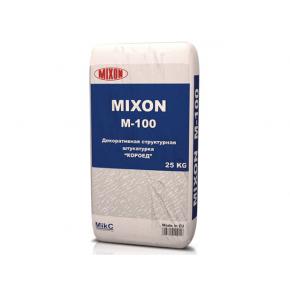 Штукатурка минеральная Mixon М-100 Короед 2,5 мм экстра-белая
