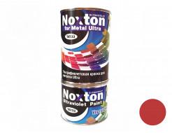 Флуоресцентная краска для металла NoxTon for Metal Ultra темно-красная
