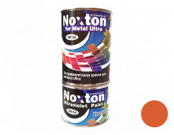 Флуоресцентная краска для металла NoxTon for Metal Ultra темно-оранжевая