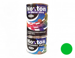 Флуоресцентная краска для металла NoxTon for Metal Ultra зеленая