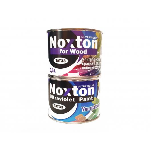 Флуоресцентная краска для дерева NoxTon for Wood белая - изображение 2 - интернет-магазин tricolor.com.ua