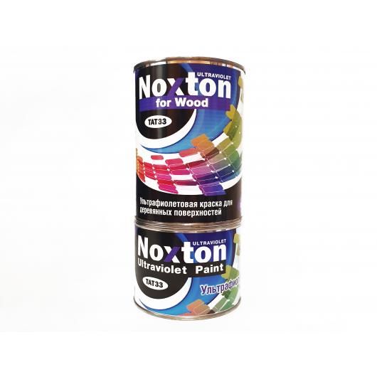 Флуоресцентная краска для дерева NoxTon for Wood белая - интернет-магазин tricolor.com.ua