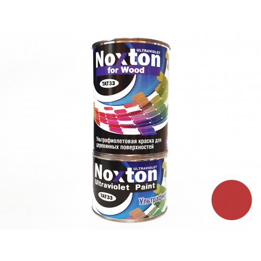 Флуоресцентная краска для дерева NoxTon for Wood темно-красная