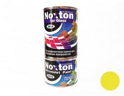 Флуоресцентная краска для стекла NoxTon for Glass желтая