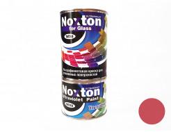 Флуоресцентная краска для стекла NoxTon for Glass красная