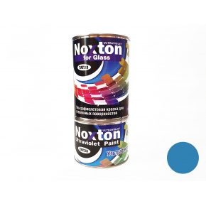 Флуоресцентная краска для стекла NoxTon for Glass синяя