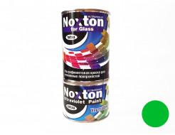 Флуоресцентная краска для стекла NoxTon for Glass зеленая