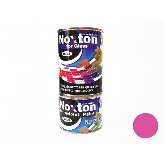 Флуоресцентная краска для стекла NoxTon for Glass розовая