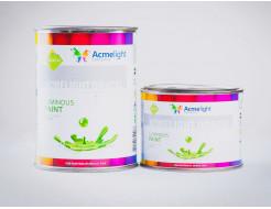Краска светящаяся AcmeLight для оракала желтая - изображение 2 - интернет-магазин tricolor.com.ua