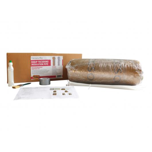 Набор для звукоизоляции водосточных труб Tecsound Insulation Pipe - изображение 4 - интернет-магазин tricolor.com.ua