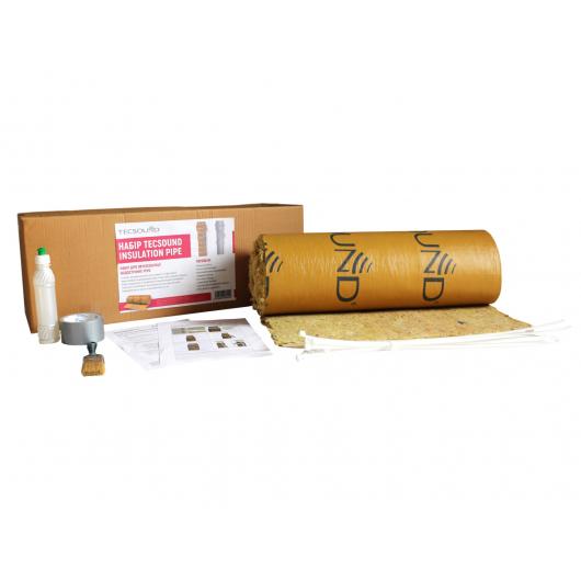Набор для звукоизоляции водосточных труб Tecsound Insulation Pipe - изображение 2 - интернет-магазин tricolor.com.ua